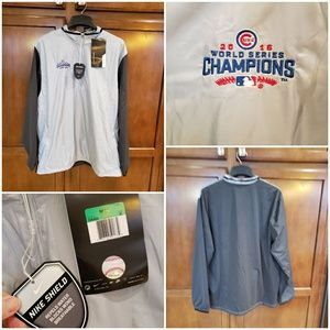 Nike Golf Cubs world series champion windbreaker